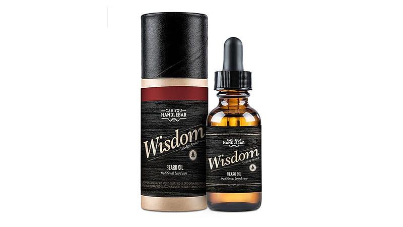 Can You Handlebar Wisdom Premium Beard Oil